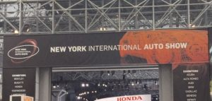 NY international car show
