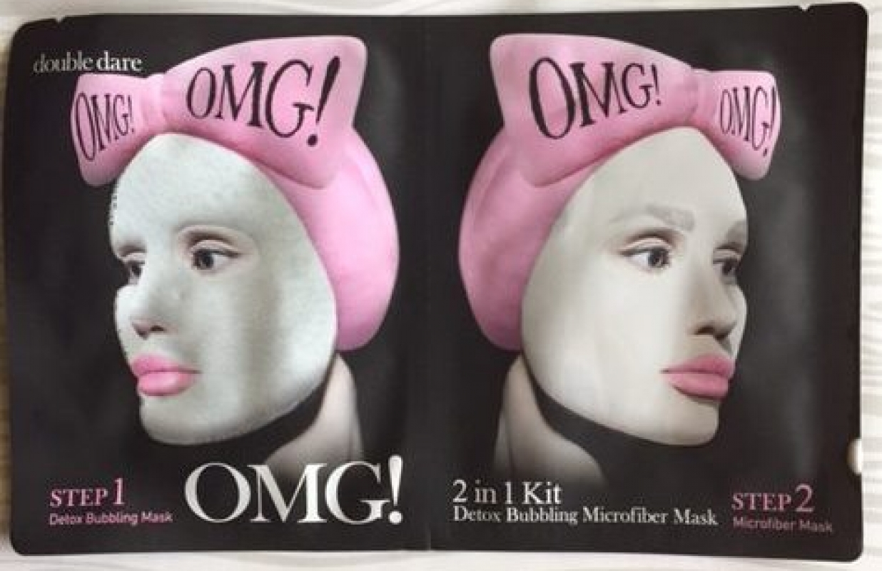Double Dare's OMG Face Mask Review