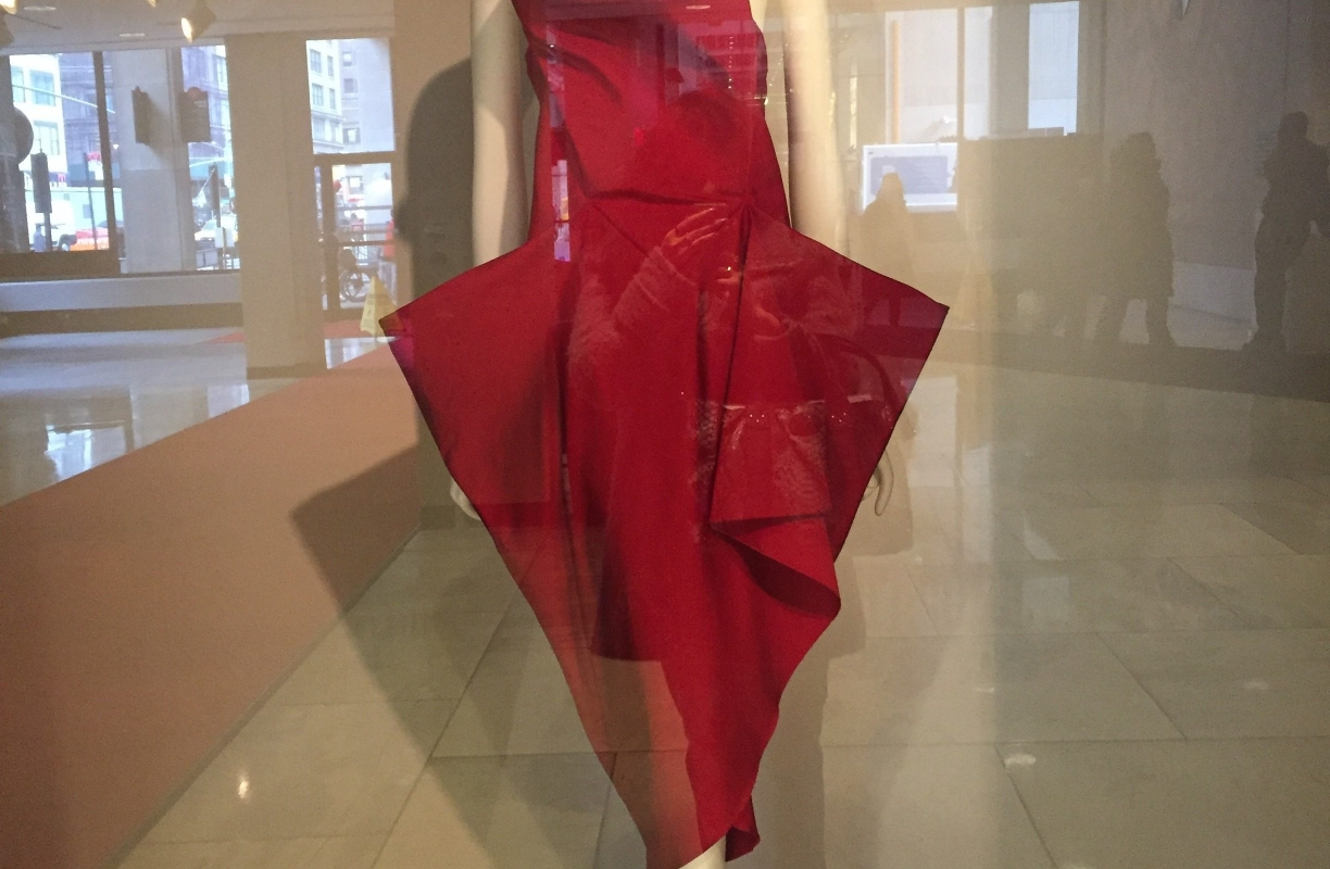 Fabric in Fashion Exhibition at the Museum of FIT