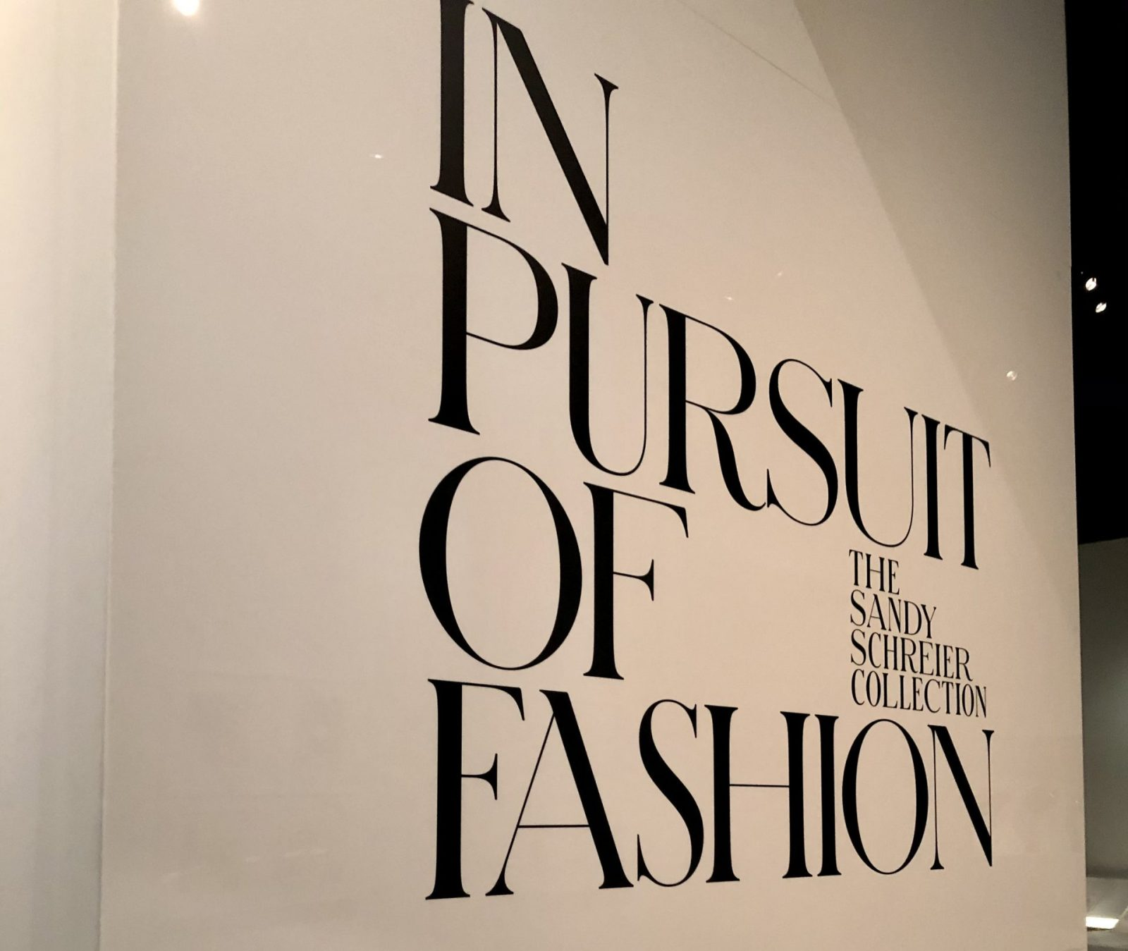 Pursuit of Fashion