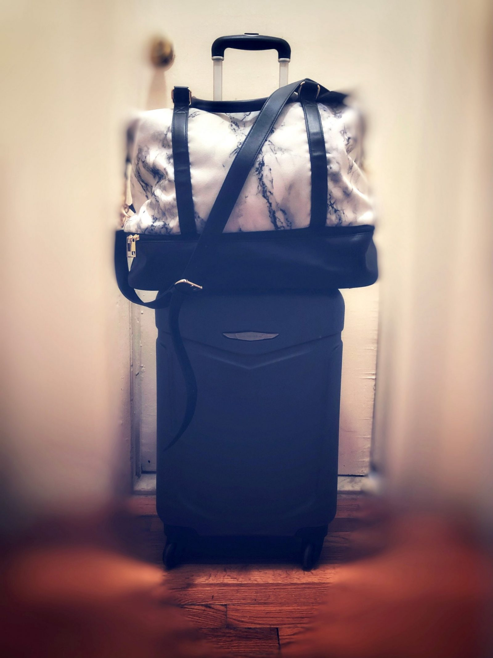 Tabitha's Luggage and Carry-On